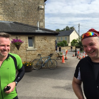 My first 100 mile cycle ride (103 miles actually) enjoyed with Stuart and Adrian.