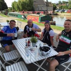 Cycling Cafe Stop Bradford on Avon