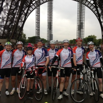 We made it to Paris - 200 + miles and great fun in between.
