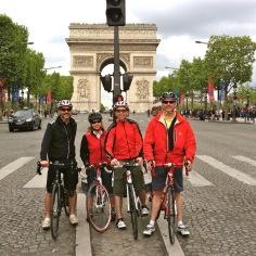 A quiet Champs Elysee