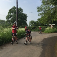 Cycling with the Marshfield Gang