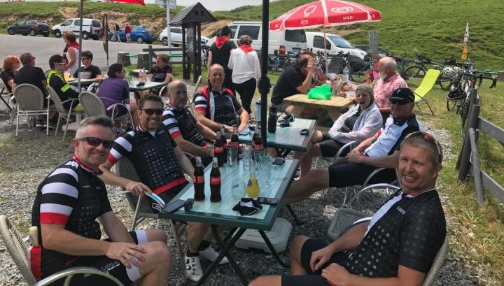Marshfield Cycling Club Col D'Aubisque